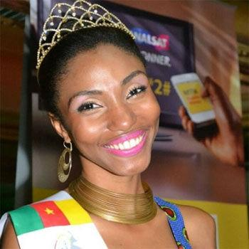 Ayena  Miss Cameroon 2013