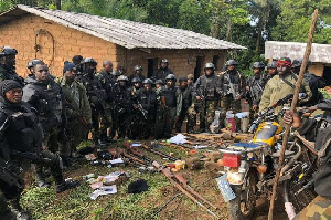 'Il a été abattu à Kikaikom, sur la route menant au camp d'Amba'