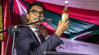 Le président Malgache fait la promotion du Covid Organics