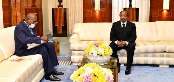 Pierre Oba négocie avec le Cameroun le transit de minerai de fer jusqu'au port de Kribi