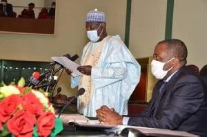 Cavaye Yeguie Djibril, président de l'Assemblée nationale