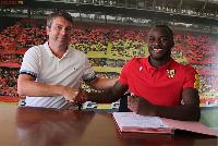 Le nouvel attaquant du RC Lens été formé à l'École de Football Brasseries du Cameroun