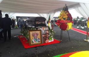 Obsèques de l'ancien Premier ministre Simon Achidi Achu