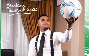 Samuel Eto'o candidat à présidence de la FECAFOOT