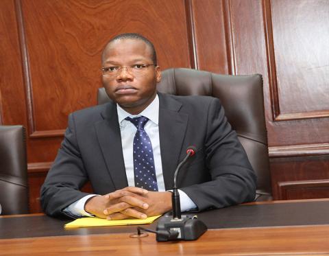 Modeste Mopa, directeur général des impôts