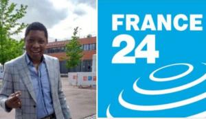 Remy Ngono pose ses valises à France 24