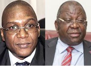 Les ministre Malachie et Mbarga Atangana