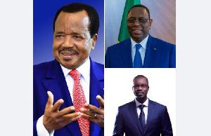 Biya, Sall et Sonko