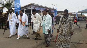 Les chefs de village traditionnels vont marcher Nkongsamba