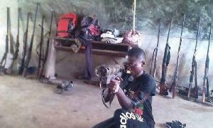Les combattants séparatistes du NOSO