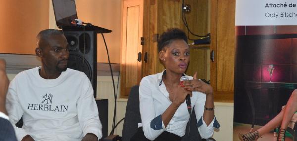 Esther Mbia, Directrice et créatrice de la marque HERBLAIN