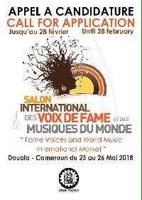Salon International des voix de FAME et des Musiques du Monde