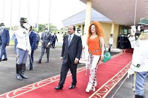 Paul et Chantal Biya en visite à Genenve