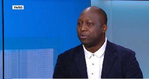 Louis Magloire Keumayou, président du Club de l'Information africaine