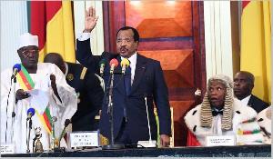 Paul Biya Prestation De Serment