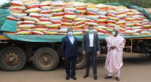 Les 4000 sacs de riz de ORCA ont été entièrement répartis et acheminés