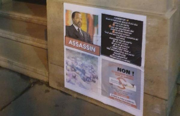 Diaspora : Paris se réveille avec de nouvelles affiches contre Paul Biya