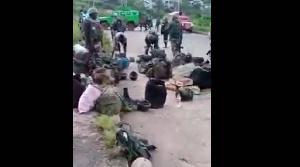 Les militaires camerounais au NOSO