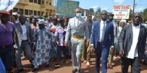L'absence de certaines personnalités a suscité des commentaires du préfet Ewango Budu Ernest