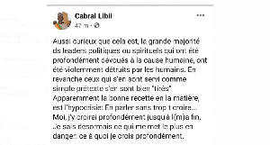 Cabral Libii sort de ses gongs, son ex Leila Mbombo lui cloue le bec