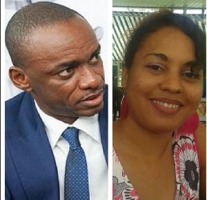 Cabral Libii du PCRN et Iyo Gogo