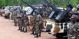 C'est une artillerie de guerre qui est déployée ce matin de samedi à Bahouan