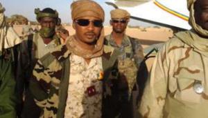 le général Mahamat Idriss Deby, président du Conseil militaire de la Transition