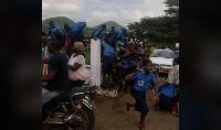 Les forces de l'ordre et de défense ont été déployées à l'Ombe tôt ce mardi