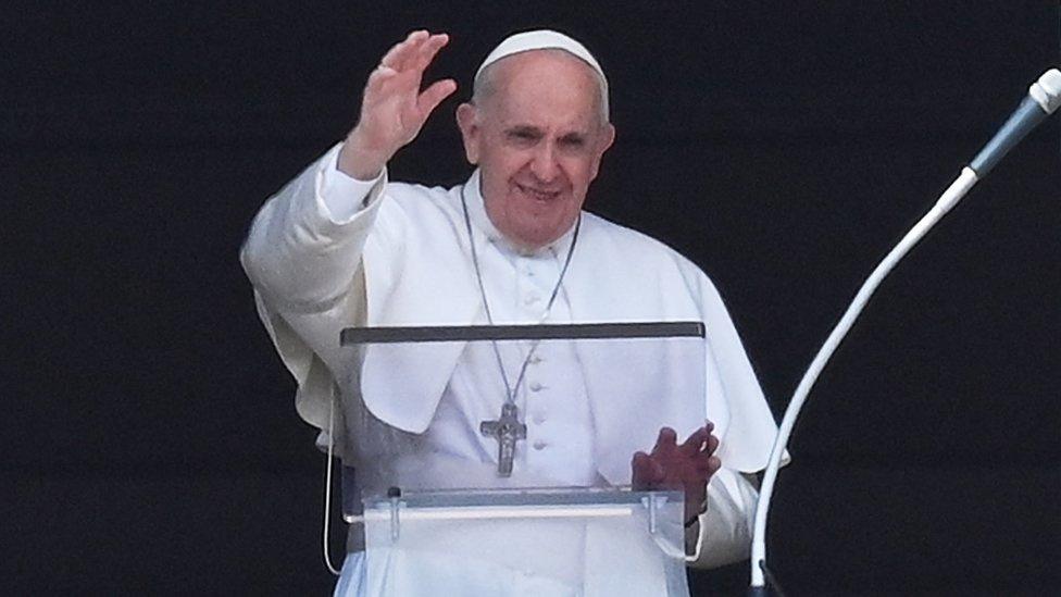 le Pape était en bonne santé lors de la bénédiction hebdomadaire habituelle