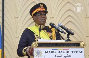 Idriss Deby Itno, président du Tchad