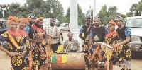 La compagnie camerounaise  a présenté un spectacle mercredi dernier au Centre culturel camerounais