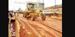 Les habitants devraient s'armer de patience et profiter de la nouvelle route poussiérieuse