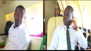 Amougou Belinga et Ernest Obama