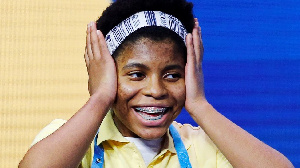 En finale, elle a battu Chaitra Thummala, 12 ans, de Frisco, Texas.