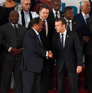 Emmanuel Macron et les pays francophones