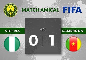Les Lions ont joué un premier match amical face au Nigéria