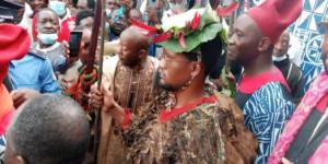 Nabil Mbombo Njoya présenté à la population