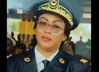 Mbey Sandrine, le sous-préfet d'Ayos