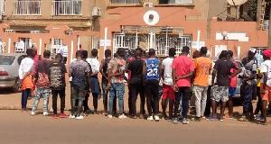 Le siège de la Fecafoot a été prit d'assaut ce matin des présidents de clubs mécontents