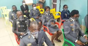 Les officiers gendarmes