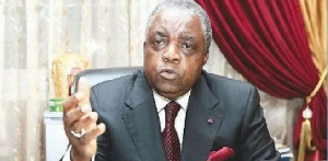 Le ministre René Sadi se prononce sur le sujet