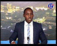 Cédric Noufélé , présentateur à Equinoxe TV