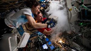 L'environnement de microgravité de l'ISS était idéal pour tester la Bio Fabrication Facility