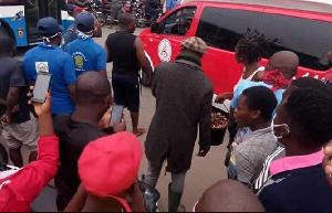 Accident Douala Mboppi