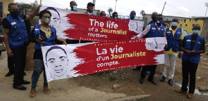 Des journalistes réclament justice pour Samuel Wazizi