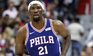 Le Basketteur camerounais Joël Embiid