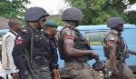 La police nigeriane