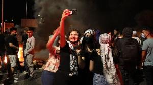 Des partisans d'Israël ont également publié des messages sur TikTok