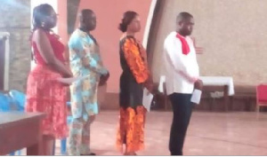 Les employés d'Amougou Belinga