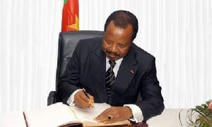 Voici l'auteur du message de condoléance attribué à Paul Biya